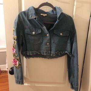Embellished Jean jacket